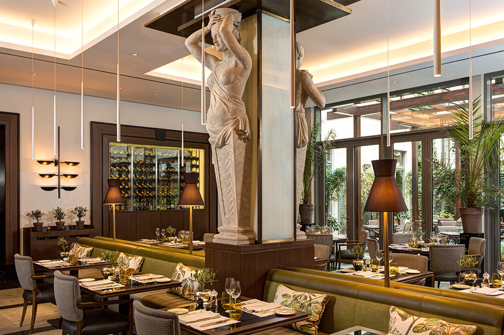 Restaurant La Banca Hotel De Rome Berlin