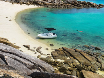 Lizard Island Private Beach