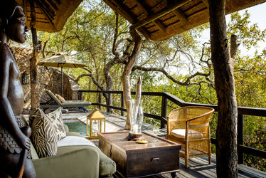 Singita Ebony Lodge Suite deck
