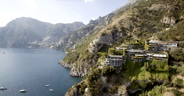 san pietro italy cliffside view
