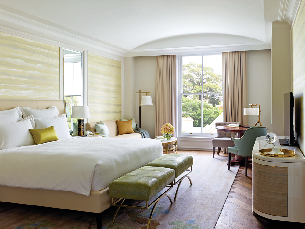The Langham Sydney Luxury Hotel In Sydney Australia