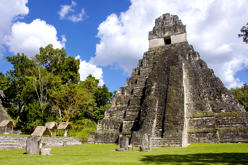 Temple in Tikal