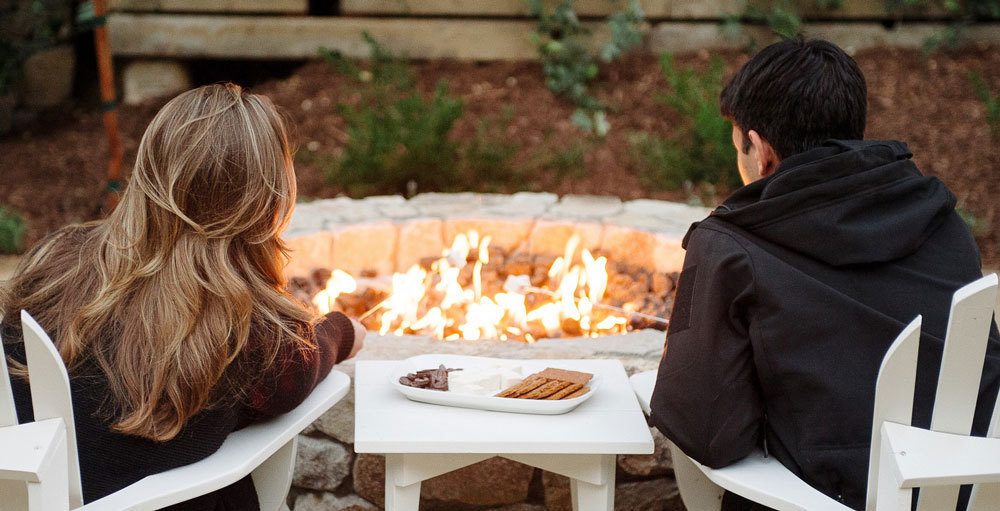 Farmhouse Inn fire pit