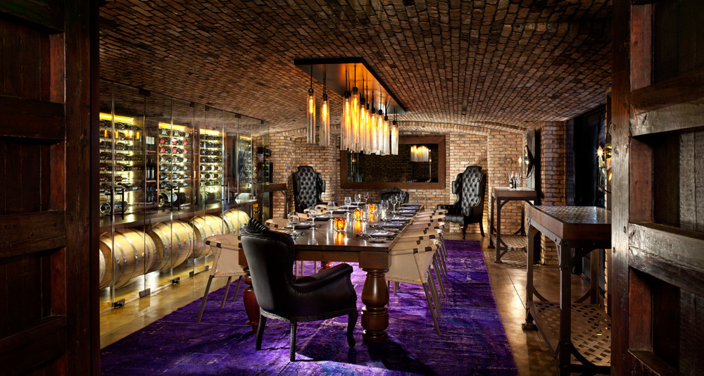 Wine room  © Rouse Photography