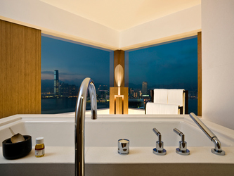 Upper House Hong Kong Suite Bath