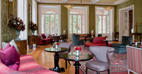 Vidago palace luxury hotel in douro valley northern for Hotel luxury douro
