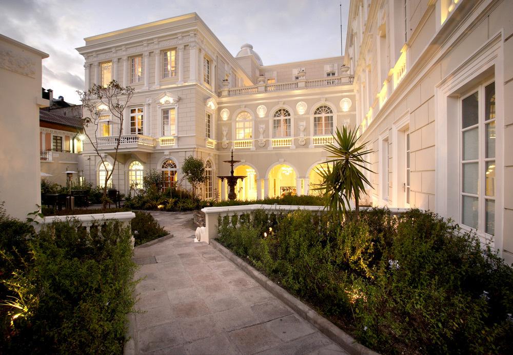 Casa Gangotena Luxury Hotel In Quito Ecuador