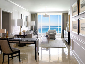 Acqualina Deluxe One Bedroom Oceanfront Suite