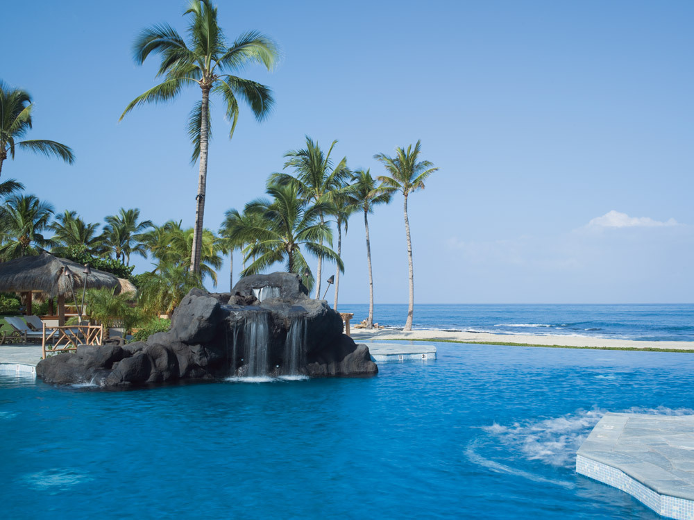 Sea Shell Pool at Four Seasons Hualalai