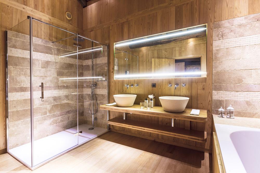 Domaine Des Etangs Longere Hiver Suite Bathroom