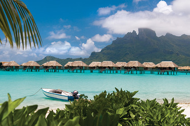 Water sports at Four Seasons Bora Bora