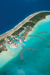 Aerial of Four Seasons Bora Bora