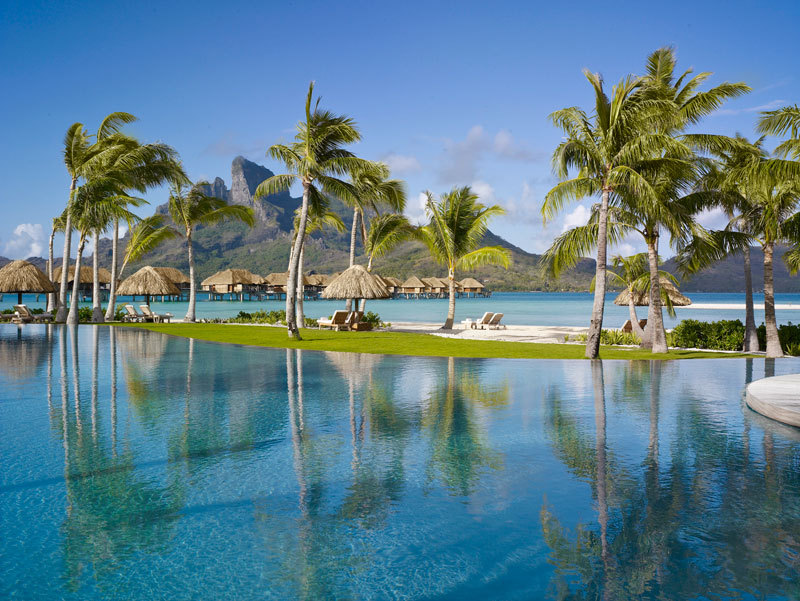 Pool at Four Seasons Bora Bora