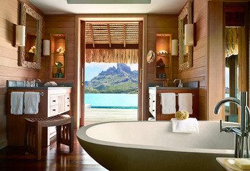Bath at Four Seasons Bora Bora