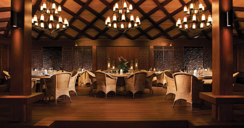Dining at Four Seasons Hualalai
