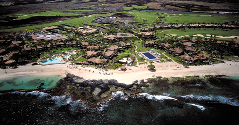 Aerial view of Four Seasons Hualalai