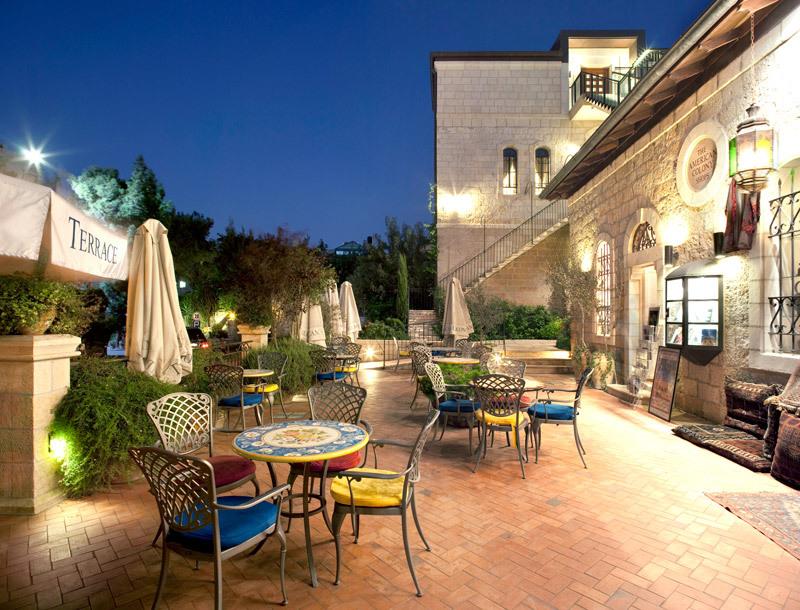 The American Colony Hotel Luxury Hotel in Jerusalem Israel