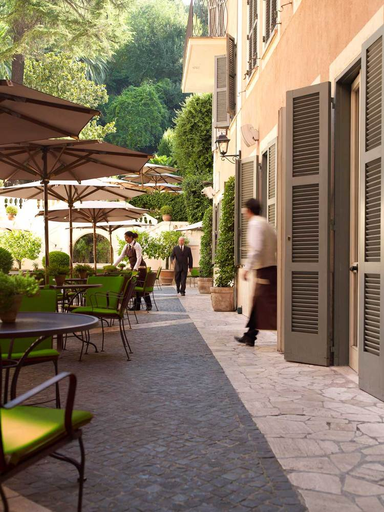 Hotel de russie a rocco forte hotel luxury hotel in for Hotel le jardin 07700
