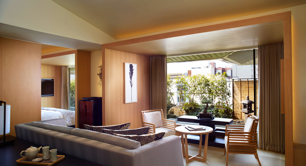 The ritz carlton kyoto luxury hotel in kyoto japan for Luxury garden rooms