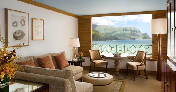 St Regis Princeville Resort Living Room