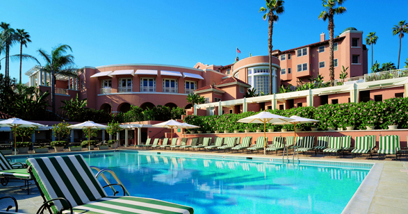 The beverly hills hotel and bungalows luxury hotel in - Beverly hills public swimming pool ...