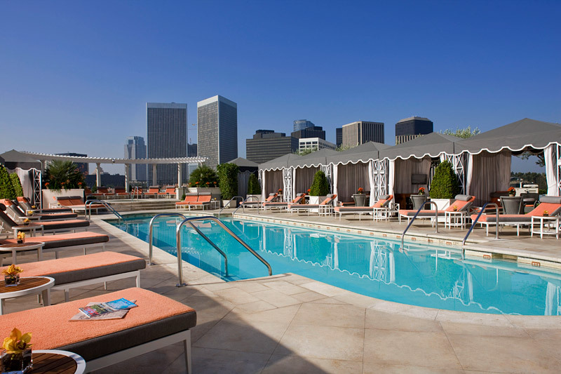 The peninsula beverly hills luxury hotel in los angeles - Best hotel swimming pools in california ...