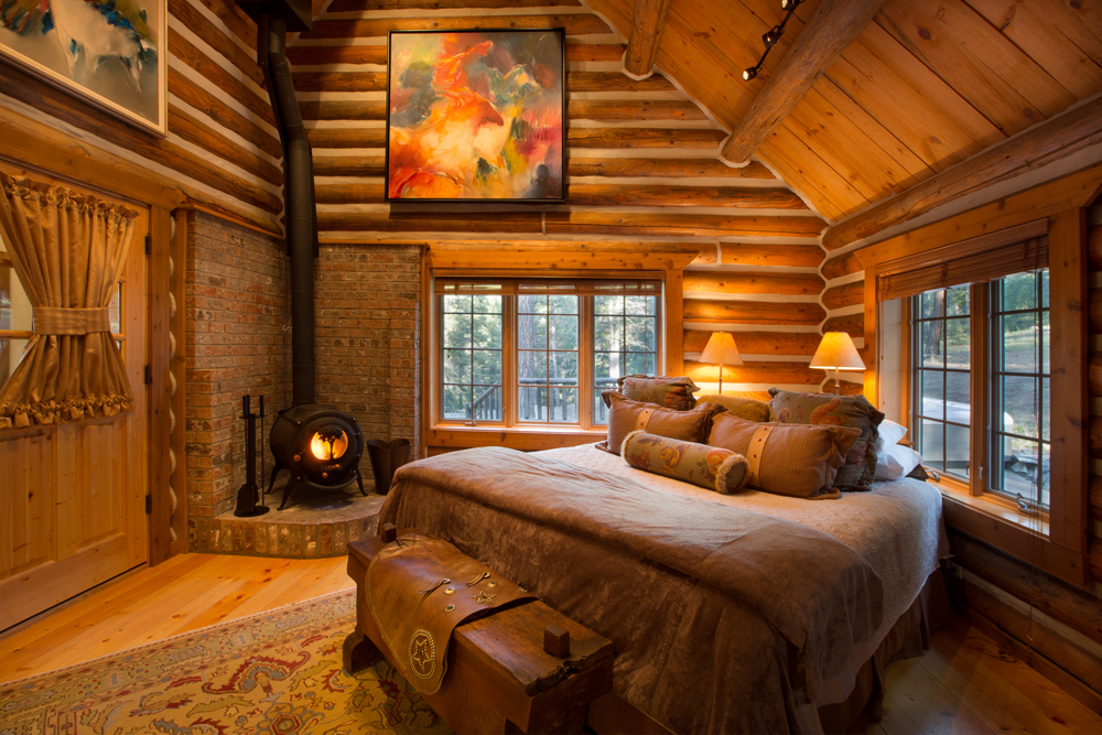 Triple Creek Ranch ranch bedroom