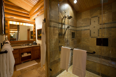 Triple Creek Ranch interior bath