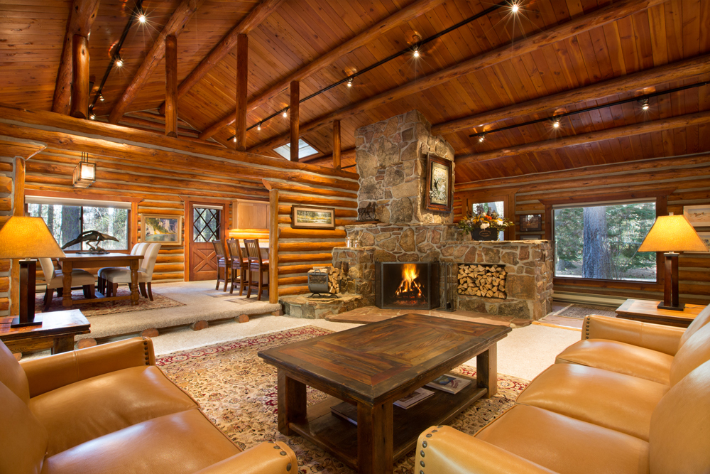 Triple Creek Ranch Living Area