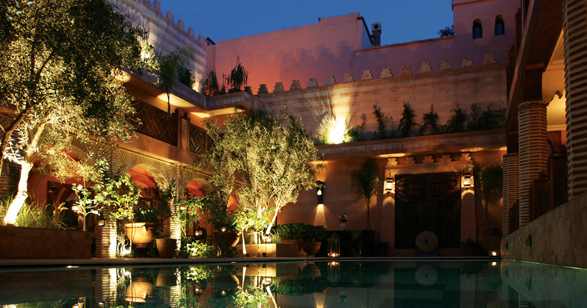 La maison arabe luxury hotel in morocco north africa for A la maison en arabe