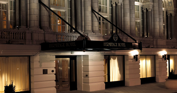 The Hermitage Hotel.