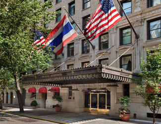 Hotel Plaza Athenee New York.