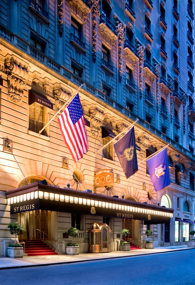The st regis new york luxury hotel in new york city new for Expensive hotel in new york
