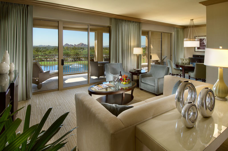 The Canyon Suites at The Phoenician.