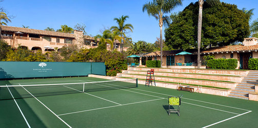 Tennis Court © Rouse Photography