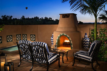 Casita Patio  © Rouse Photography