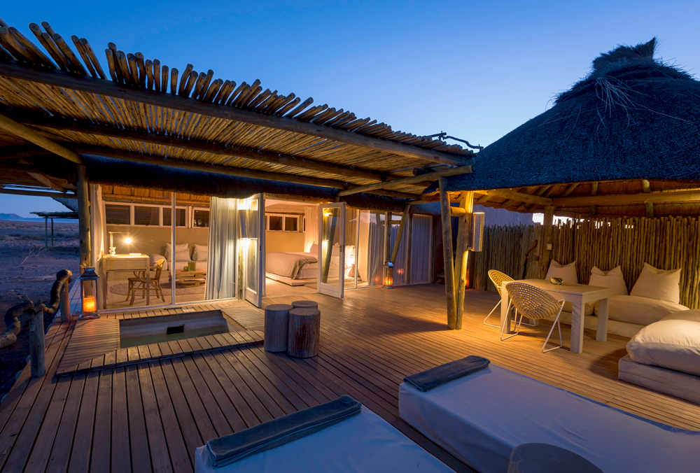 Little kulala luxury hotel in namibia southern africa for Small little luxury hotels