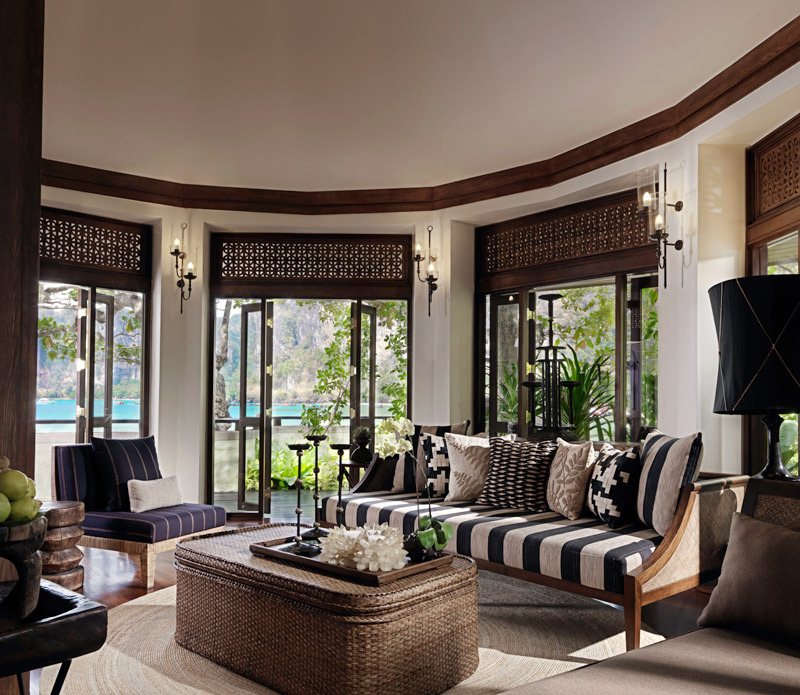 Luxury Hotel Room Interior Design: Luxury Hotel In Coastal Resorts Thailand