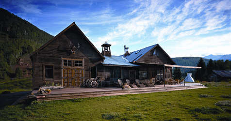 Dunton Hot Springs Saloon and Dance Hall
