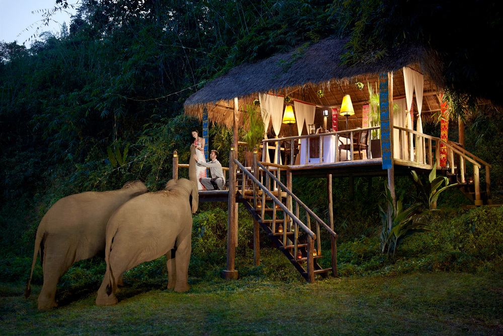 Anantara Golden Triangle Elephant Camp amp Resort Luxury
