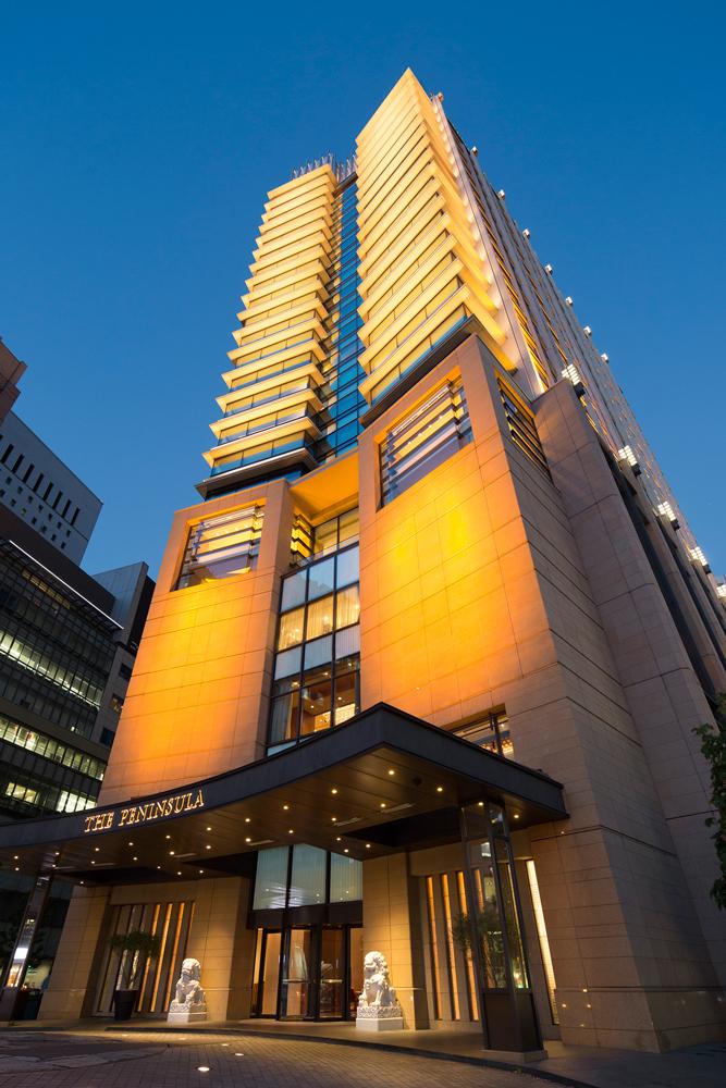 Tokyo Peninsula Luxury Hotels Japan Exterior