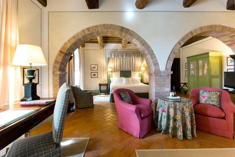Castello Banfi Il Borgo Luxury Hotel In Tuscany Italy