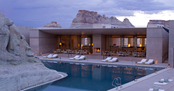 Amangiri swimming pool