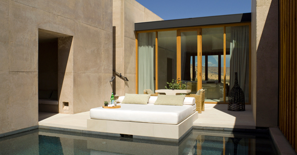 Amangiri Mesa Suite pool view