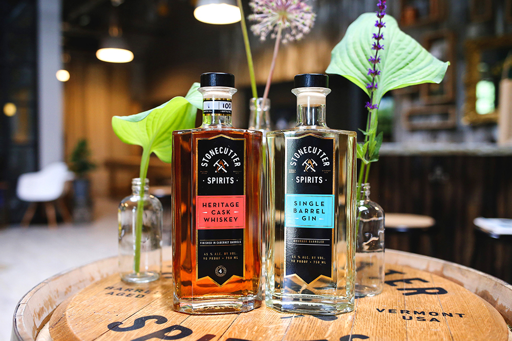 Stonecutter Sprits' Heritage Cask Whiskey and Single Barrel Gin
