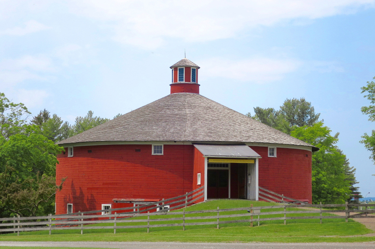 The Round Barn at the Shelburne Museum