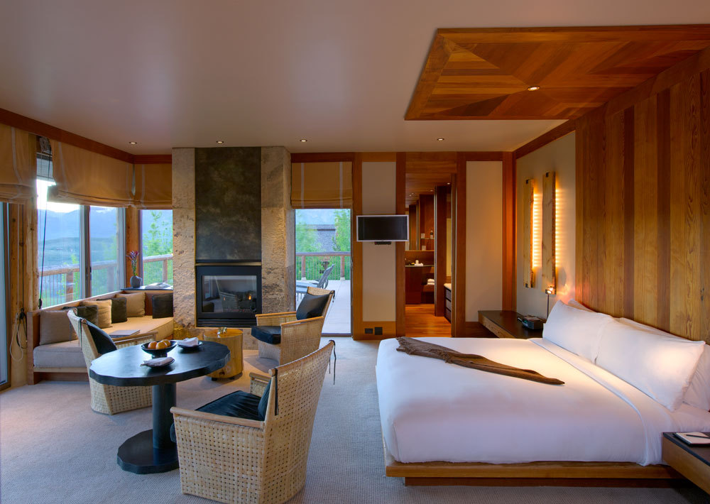Amangani luxury hotel in wyoming united states for 2 bedroom suites in jackson hole wy