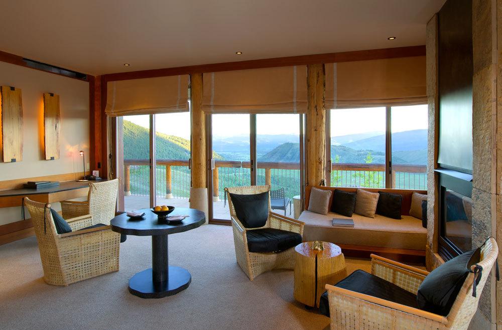 Amangani Luxury Hotel In Wyoming United States