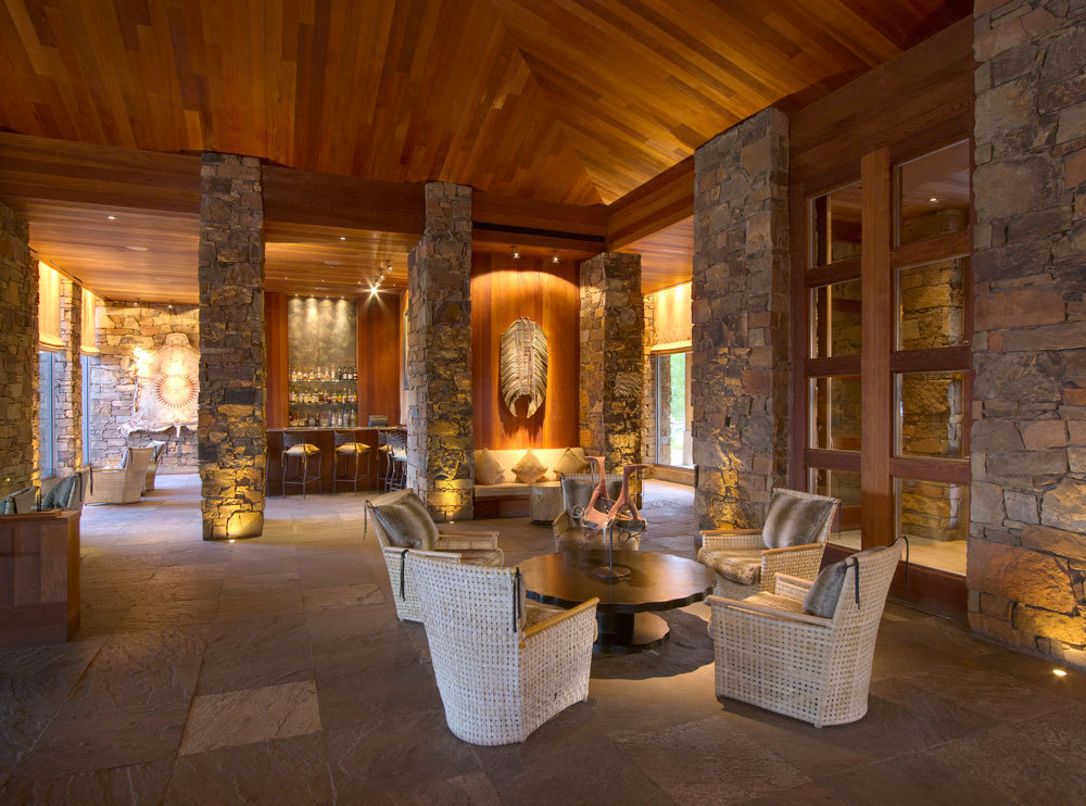 Amangani luxury hotel in wyoming united states for Design hotel ski