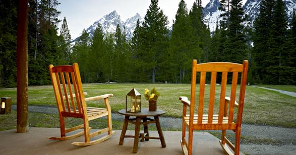 Jenny Lake Lodge Luxury Hotel In Wyoming United States